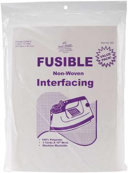 """Fusible Non-Woven Interfacing 15""""X3yd"""