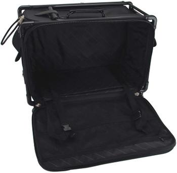 """TUTTO Machine On Wheels Case 27""""X16.25""""X14"""" Black"""