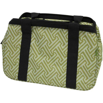"JanetBasket Eco Bag 18""X10""X12"" Green T"