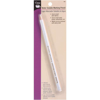 Water-Soluble Marking Pencil White