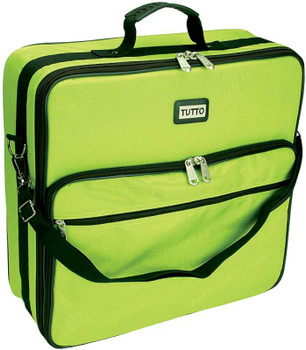 "TUTTO Embroidery Bag 19""X17""X6"" Lime"
