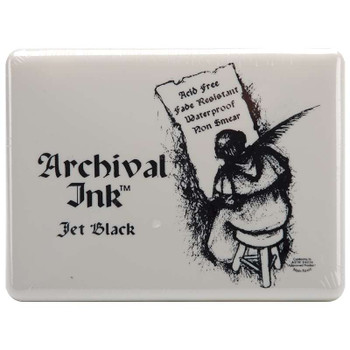 Archival Ink Jumbo Ink Pad #3 Jet Black