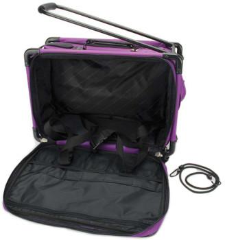 """TUTTO Machine On Wheels Case 20""""X13""""X9"""" Purple"""