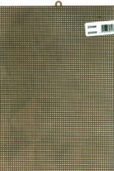 """Plastic Canvas 7 Count 10""""X13"""" Brown"""