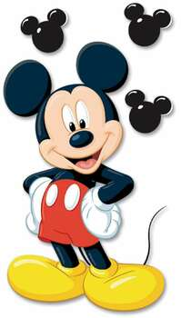 Disney Dimensional Stickers Mickey