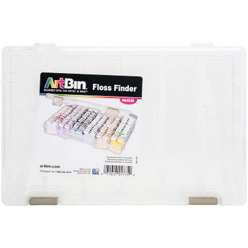 "ArtBin Floss Finder With Dividers 10.75""X7.375""X1.75"" Translucent"