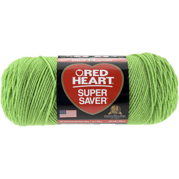 Red Heart Super Saver Yarn Spring Green