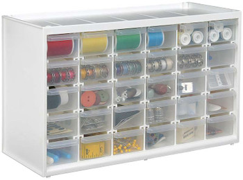 """ArtBin Store-In-Drawer Cabinet 14.375""""X6""""X8.75"""" Translucent"""