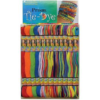 Prism 6-Strand Floss Pack 8.7yd 24/Pkg Tie-Dye