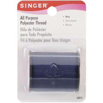 All-Purpose Polyester Thread 150yd Navy