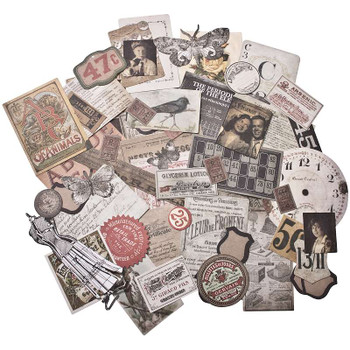 Idea-Ology Ephemera Pack 54/Pkg Thrift Shop