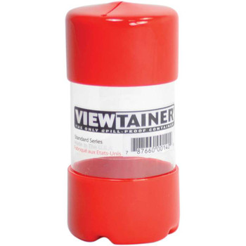"Viewtainer Slit Top Storage Container 2""X4"" Red"