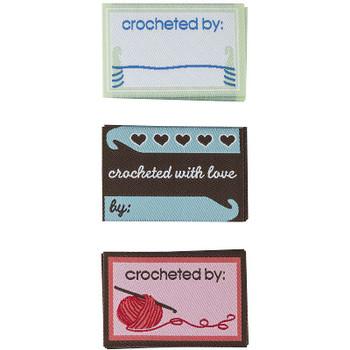 Boye Garment Labels 9/Pkg Crochet