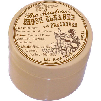 The Master's Brush Cleaner & Preserver 1oz