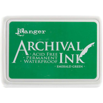 Archival Ink Pad #0 Emerald Green
