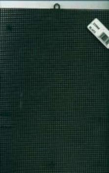 "Plastic Canvas 7 Count 10""X13"" Black"