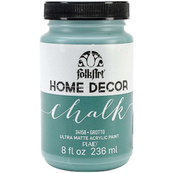 FolkArt Home Decor Chalk Paint 8oz Grotto
