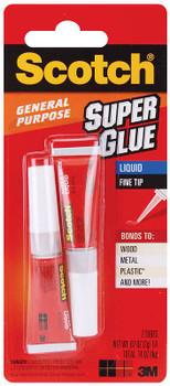Scotch Super Glue Liquid 2/Pkg .07oz