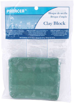 Floral Sticky Clay 4.5oz Green
