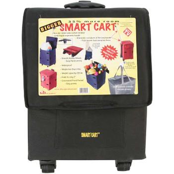 """Bigger Smart Cart 14""""X12""""X19"""" Black"""