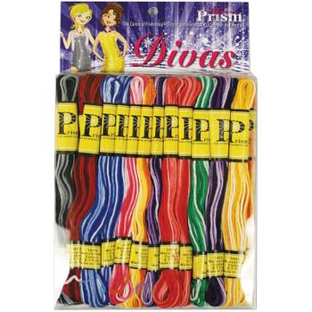 Prism 6-Strand Floss Pack 8.7yd 24/Pkg Divas