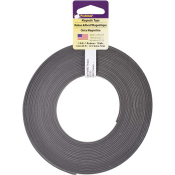 """ProMag Adhesive Magnetic Tape .5""""X25'"""