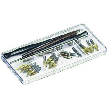 """ArtBin Pen & Nib Case 7.375""""X3.625""""X.6875"""" Clear"""