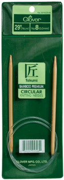 "Takumi Bamboo Circular Knitting Needles 29"" Size 13/9mm"