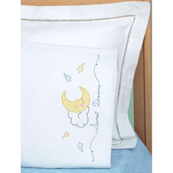 Children's Stamped Pillowcase W/White Perle Edge 1/Pkg Sweet Dreams