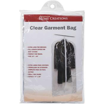 """Clear Dress/Suit Bag 24""""X54"""""""
