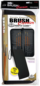 """Keep N' Carry Zippered Long Handle Brush Carrier 12.5""""X14.5"""""""