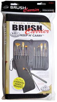 """Keep N' Carry Zippered Standard Brush Carrier 12.5""""X11.25"""""""