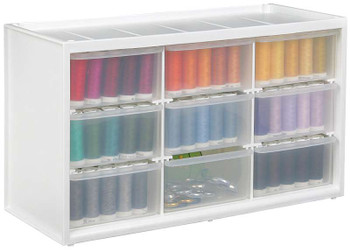 """ArtBin Store-In-Drawer Cabinet 14.375""""X6""""X8.675"""" Translucent"""