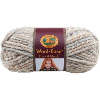 Wool-Ease Thick & Quick Yarn Fossil