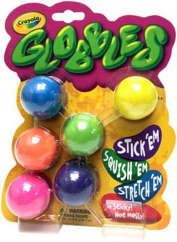 Crayola Globbles 6/Pkg Assorted Colors