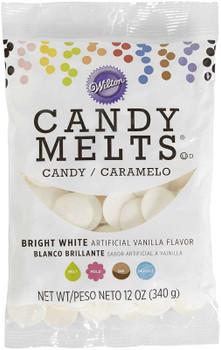 Candy Melts Flavored 12oz Bright White, Vanilla