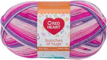 Red Heart Bunches Of Hugs Yarn Fairy Tale
