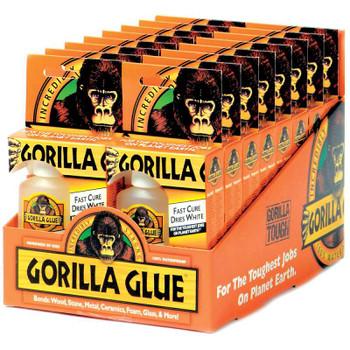 Gorilla Glue Fast Cure 16pc Display-2oz