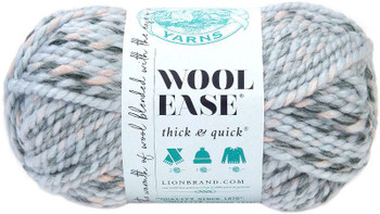 Lion Brand Wool-Ease Thick & Quick Yarn Arctic Ice