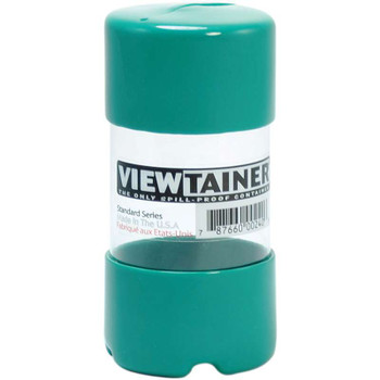 "Viewtainer Slit Top Storage Container 2""X4"" Green"