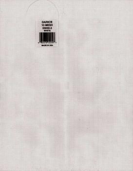 "Plastic Canvas 10 Count 10.5""X13.5"" White"