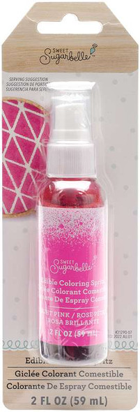 Sweet Sugarbelle Edible Color Mist 2oz Magenta