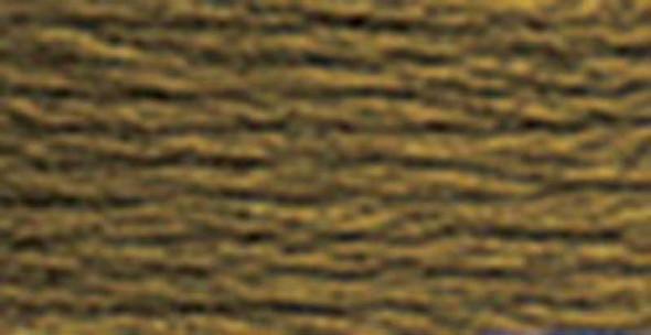 DMC Pearl Cotton Skein Size 5 27.3yd Dark Drab Brown