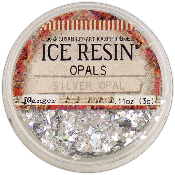 Ice Resin Opals Silver