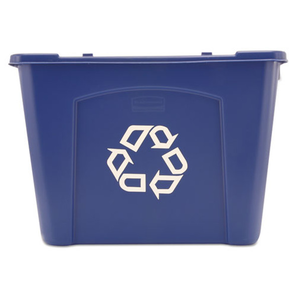 Rubbermaid Commercial Stacking Recycle Bin