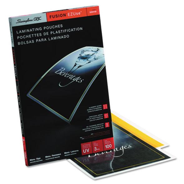 GBC EZUse Thermal Laminating Pouches - GBC3200720