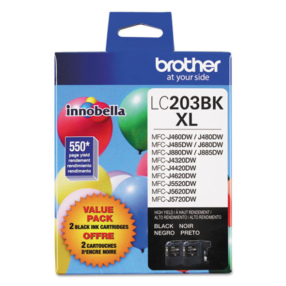 Brother LC2033PKS-LC205Y Ink