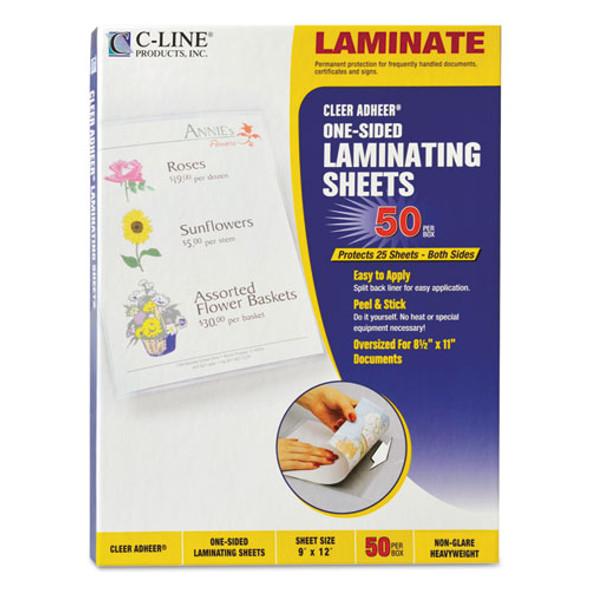 C-Line Cleer Adheer Self-Adhesive Laminating Film - CLI65004