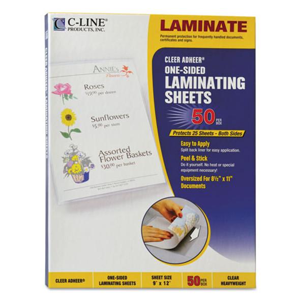 C-Line Cleer Adheer Self-Adhesive Laminating Film - CLI65001