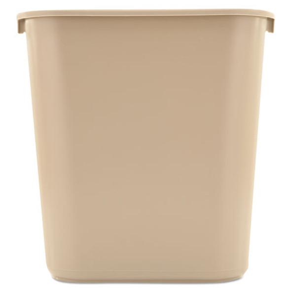 Rubbermaid Commercial Deskside Plastic Wastebasket - RCP295600BG